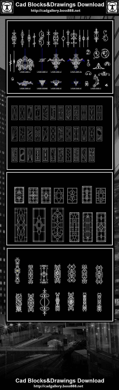 【European Classical elements Blocks】