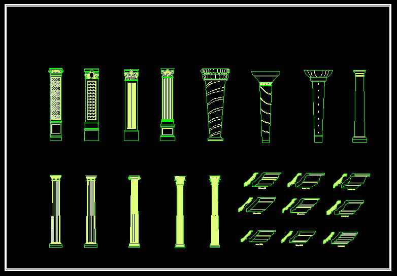 p42roman-column-design-decorative-plate-bars04
