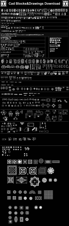 Interior Design CAD Collection