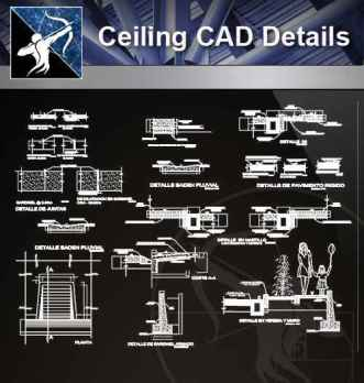 【Architecture CAD Details Collections】Flooring CAD Details V.2